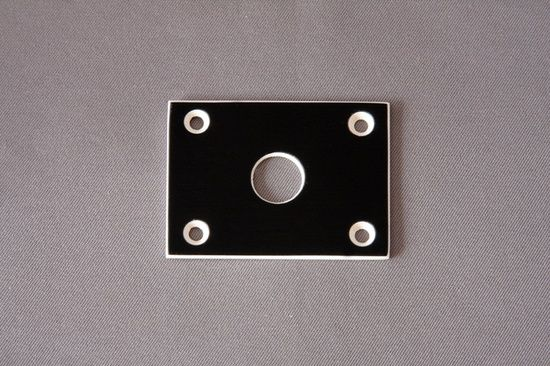 Standard Jack Plate. Fits all BC Rich guitars 74 thru 85 Standard Jack Plate. Fits all BC Rich guitars 74 thru 85 [ID #283 - 82] - $10.00 : Neal Moser Guitars , Fine Custom Handmade Guitars, Basses, electric guitar parts and BC Rich