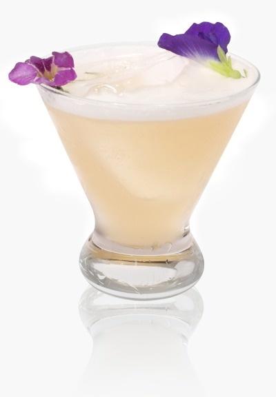 Eau de Lavender patron cocktail