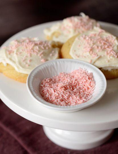 Home-made sprinkles