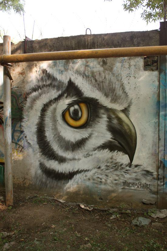 Art or graffiti?  -Art