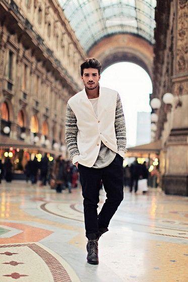 Men fashion in Milan