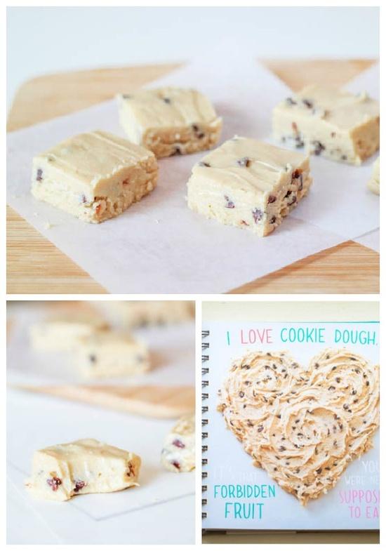 Chocolate Chip Cookie Dough Fudge.