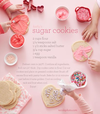 v-day sugar cookie recipe!
