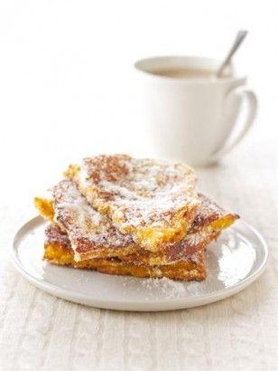 Sugar 'Doughnut' French Toast by Nigella Lawson #French_Toast #Doughnut