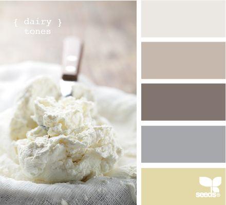 Creamy colors