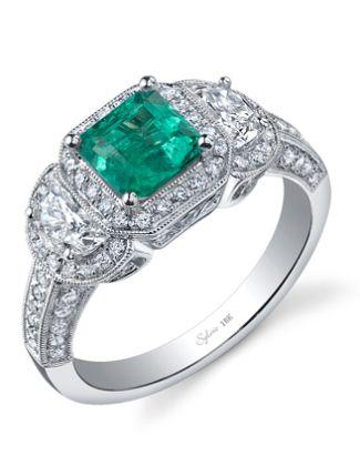 7 Emerald Engagement Rings