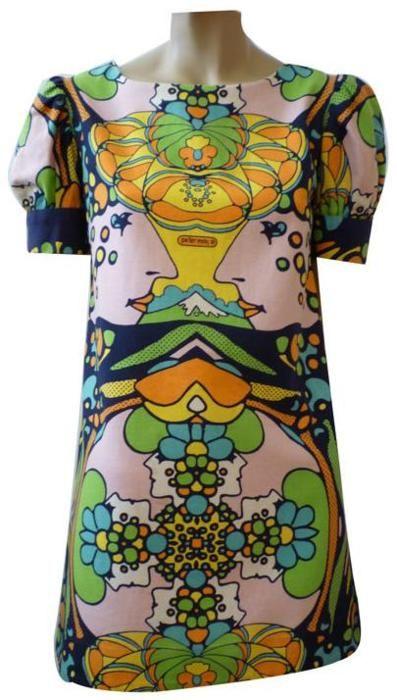 Dress  Peter Max, 1960s  1stdibs.com
