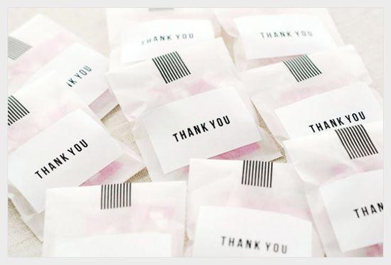 Sally J Shim - BLOG - [MAKE] THANK YOU TREATBAGS