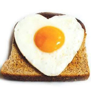 Fried Egg Heart