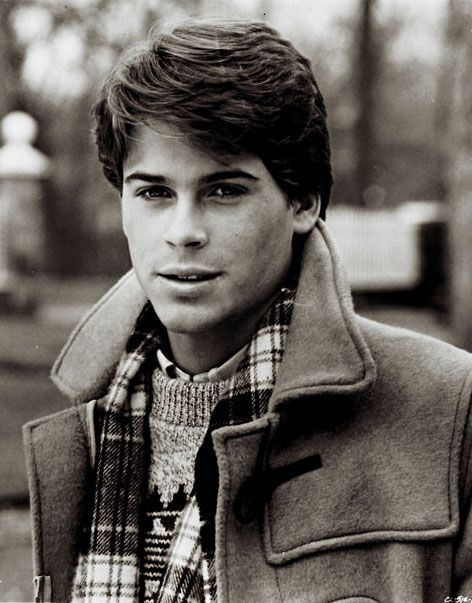 a very young Rob Lowe
