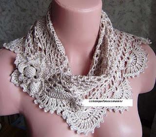 a beautiful scarf
