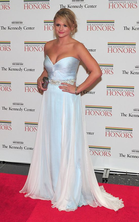 Celebrities in Sherri Hill, Miranda Lambert
