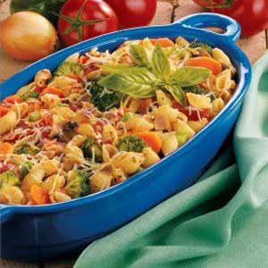 Bacon and Veggie Pasta - something different to try for Christmas dinner.