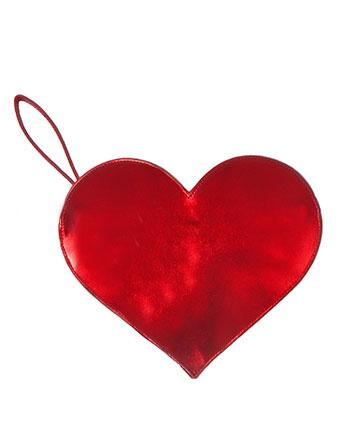 Metallic heart clutch
