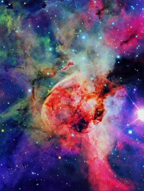 The outer space, the unknown and purely beautiful ? ?