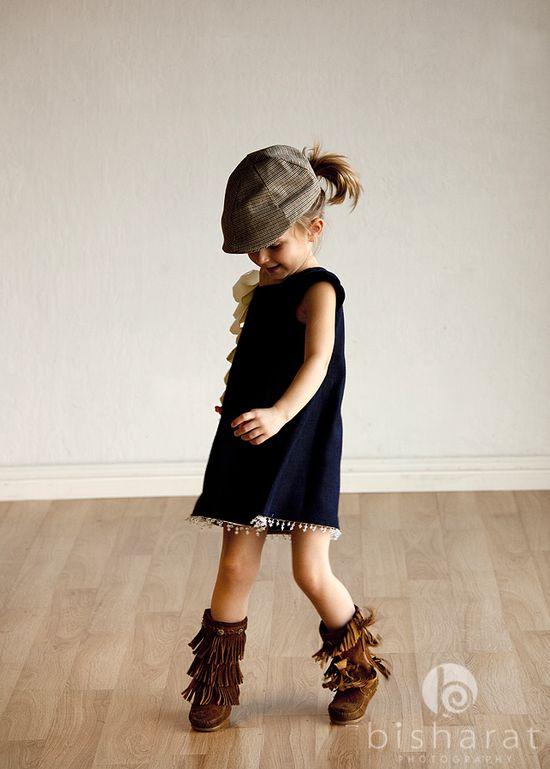 love the fringe & cap!