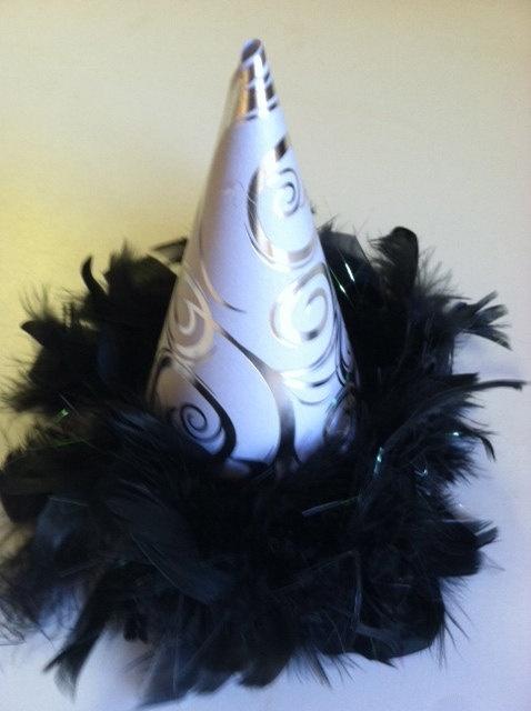 NYE Eve glamor hat - Two Little Monkeys Bowtique on Etsy.