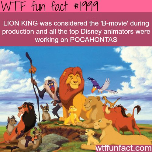 Lion King facts - WTF fun facts