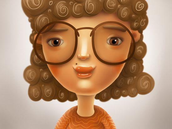 Female Cartoon Character #female #character