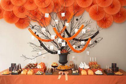 Halloween Sweets Table