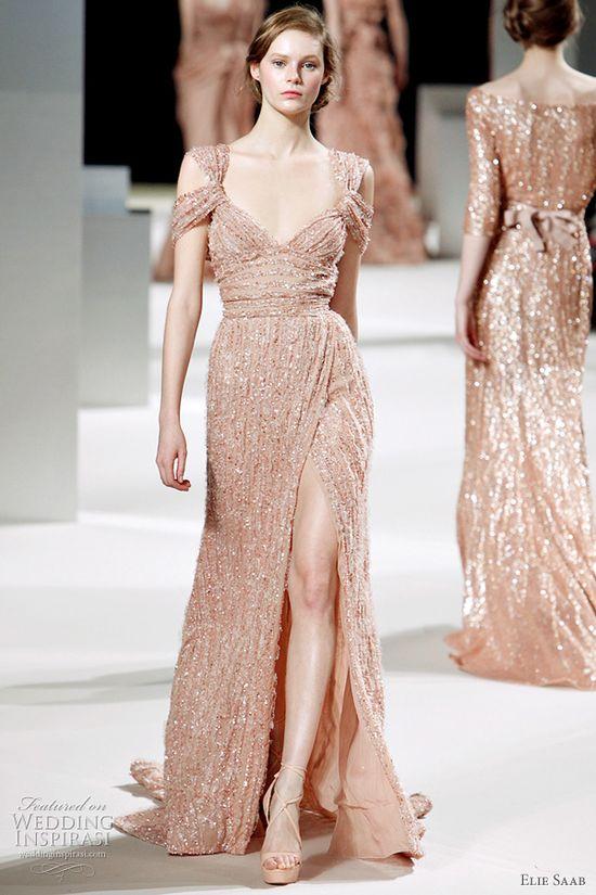 Sparkling Dress by Elie Saab, Spring 2011
