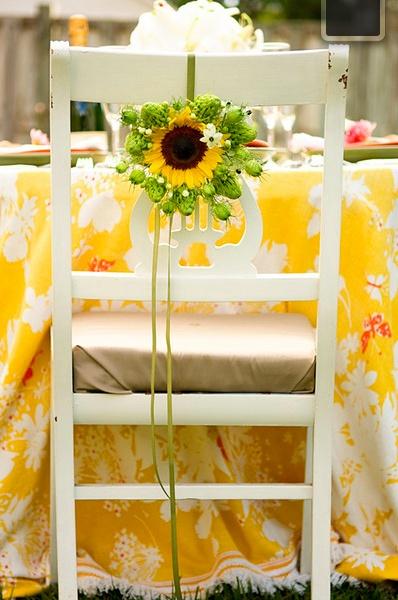 Sunflower love.