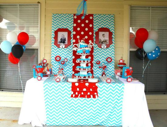 Dr. Suess baby shower ideas