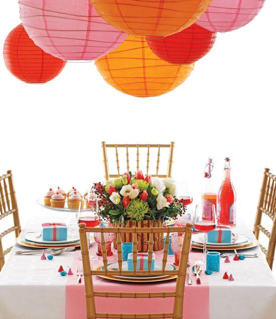 fun & colorful table
