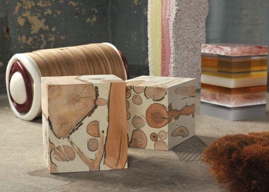 Design Academy Eindhoven graduate Matthias Borowski has created a range of furniture that resembles oversized confectionary (+ slideshow).  /dezeen.com/