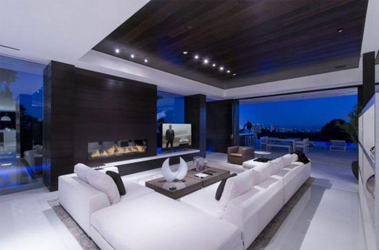 Elegant Residence  Living Room Design