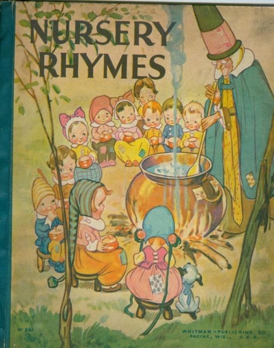 'Nursery Rhymes', Whitman circa 1930