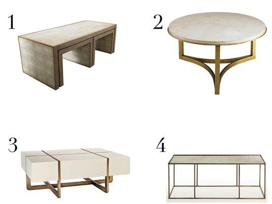 LDV Top 10: Coffee Tables