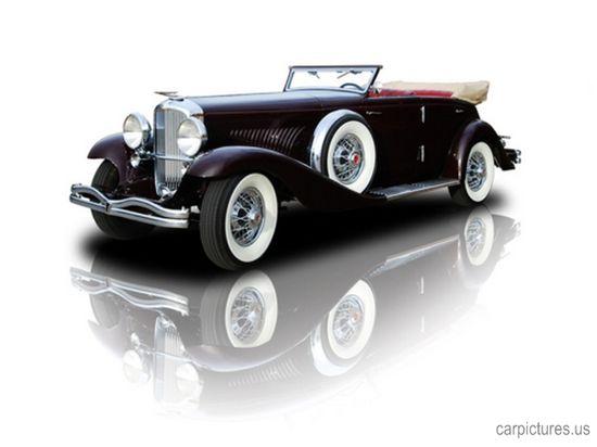 1934 1 of 3 Deusemberg JN Rollston SWB Convertible Sedan