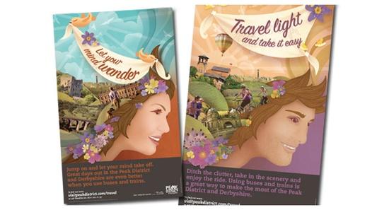 Our Visit Peak District & Derbyshire poster campaign