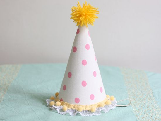 Sweet birthday hat!