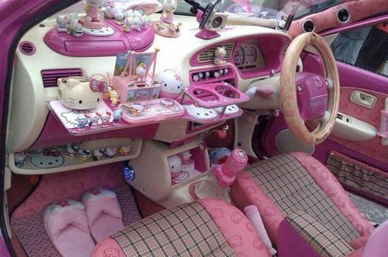Hello Kitty dream car