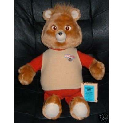 teddy was a great toy and cute to boot