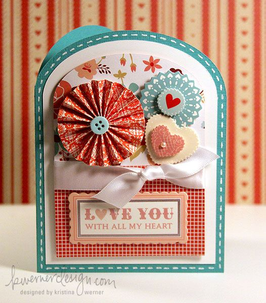 'Love you with all my heart' card.