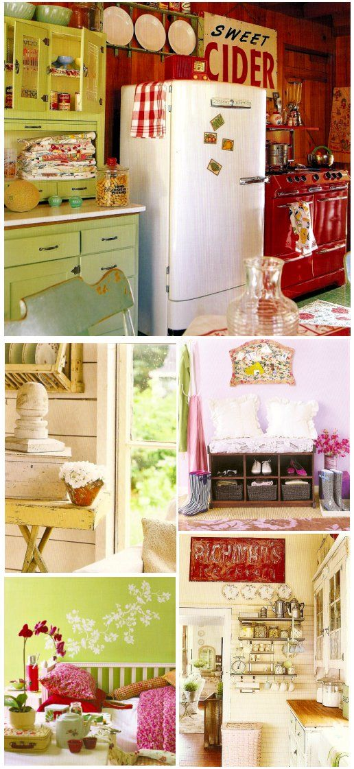 Cottage Chic: rustic inspiration