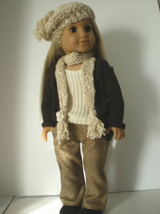 American Girl Doll Clothes Pants Tank Sweater von fashioned4you, $22,00