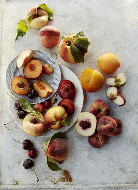 Peaches, plums, nectarines & cherries