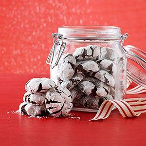 Chocolate Crinkle Cookies Recipe - Delish