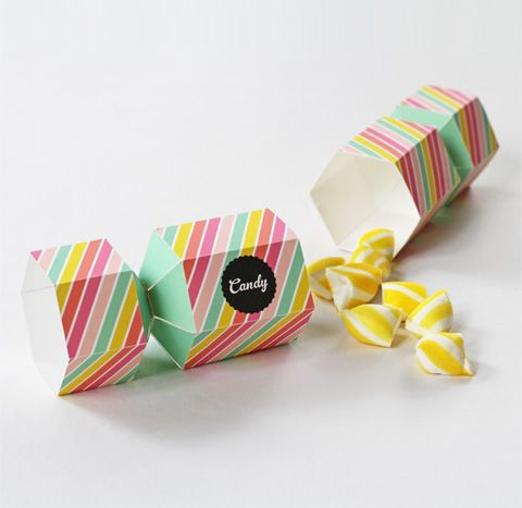 tutorial and printable candy box