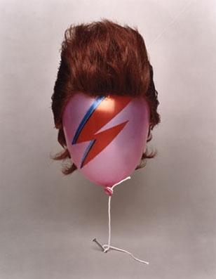 Globo pelo baloon peluca