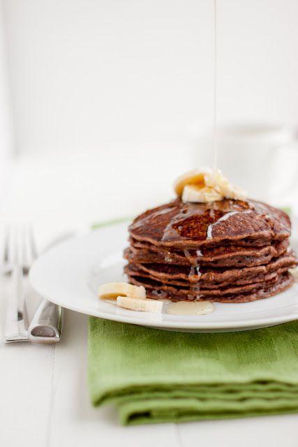Chocolate Banana Pancakes