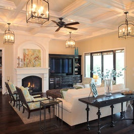 Living Photos Dark Floors Design, Pictures, Remodel, Decor and Ideas - page 8