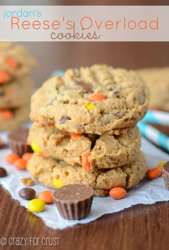 Reese's Overload Cookies