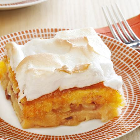 Apple-Bread Pudding Cake