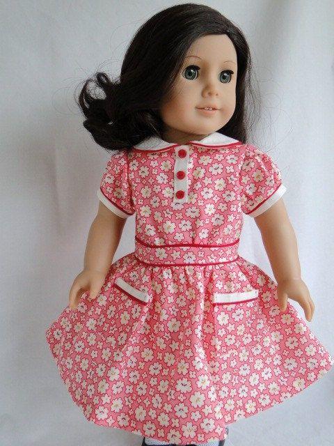 American Girl  1930's  Inspired Dress