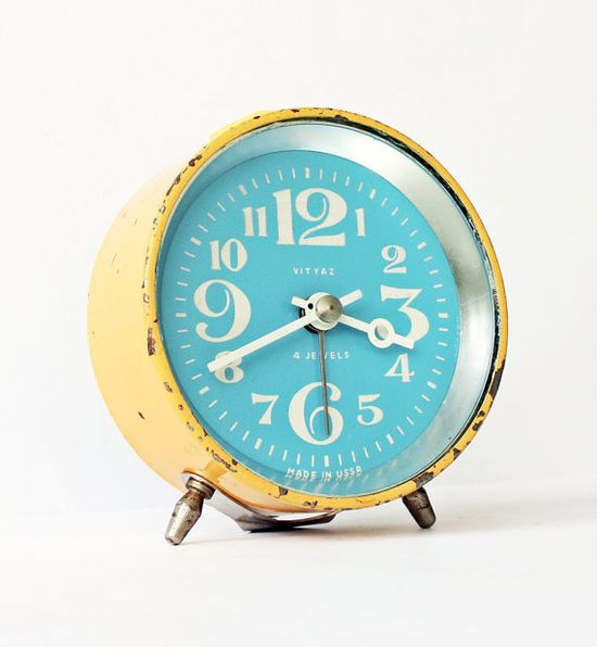 the perfect vintage clock